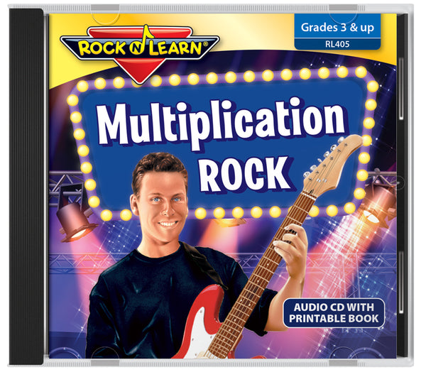 Multiplication Rock (audio & printable book)