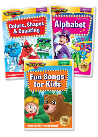 Preschool Learning DVD Collection