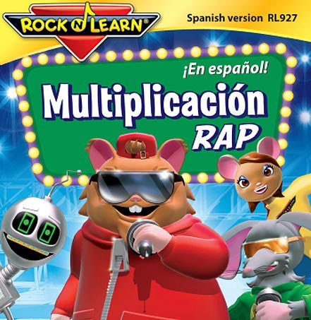 Multiplicación Rap audio CD (in Spanish)