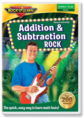 Addition & Subtraction Rock (DVD)