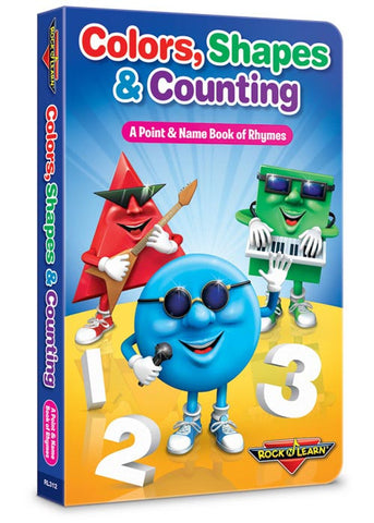 Colors, Shapes & Counting Board Book