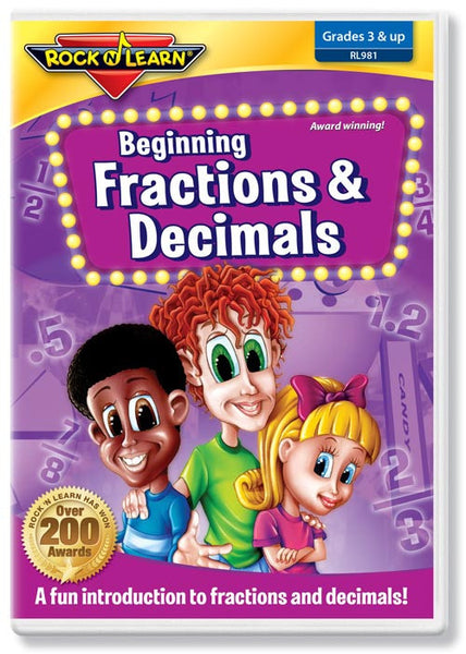 Beginning Fractions & Decimals (DVD)