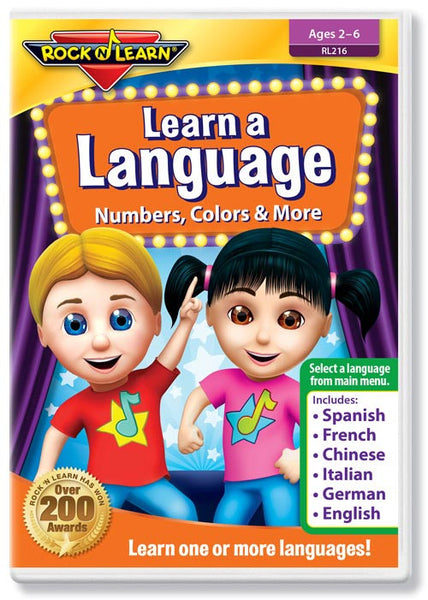 Learn a Language - Numbers, Colors & More (DVD)