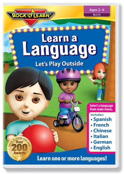 Learn a Language - Let's Play Outside (DVD)