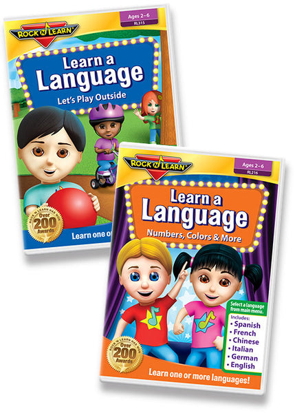 Learn a Language DVD Collection