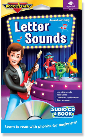 Letter Sounds (audio & book)