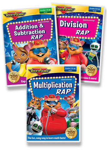 Math Rap DVD Collection