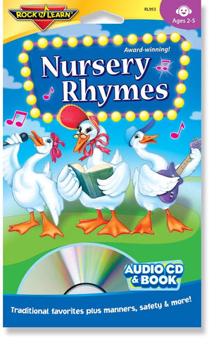 Nursery Rhymes (audio & book)
