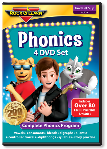 Phonics 4 DVD Set