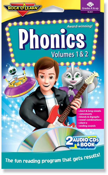 Phonics Volumes 1 & 2 (audio & book)