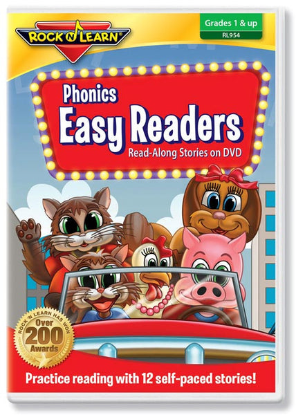 Phonics Easy Readers on DVD