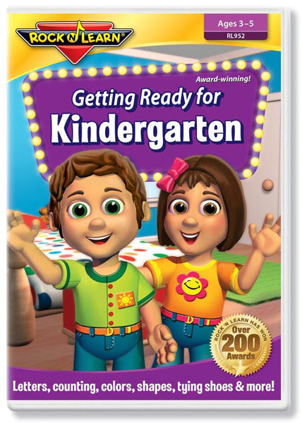 Getting Ready for Kindergarten (DVD)