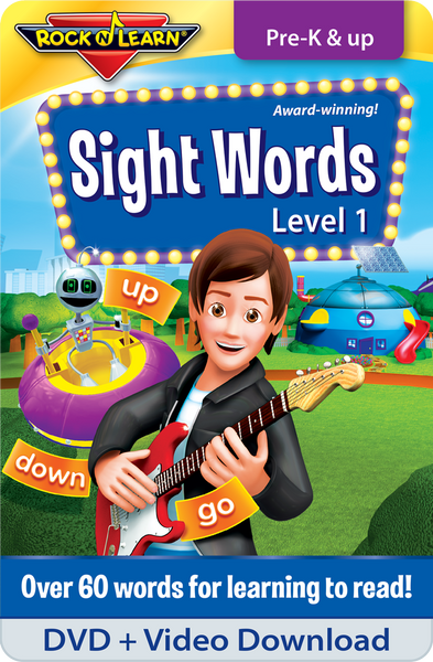 Sight Words Level 1 DVD & Video Download