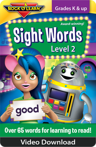 Sight Words Level 2 Video Download