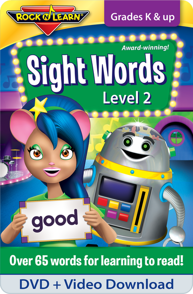 Sight Words Level 2 DVD & Video Download