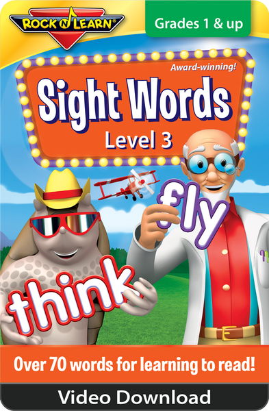 Sight Words Level 3 Video Download