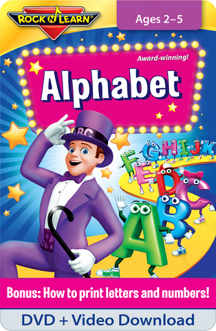 Alphabet DVD & Video Download