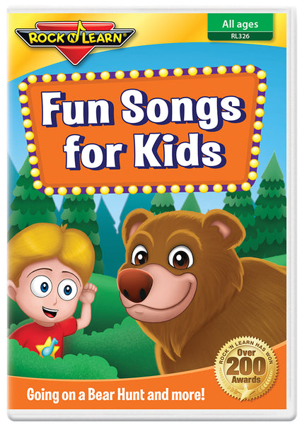 Fun Songs For Kids (DVD)