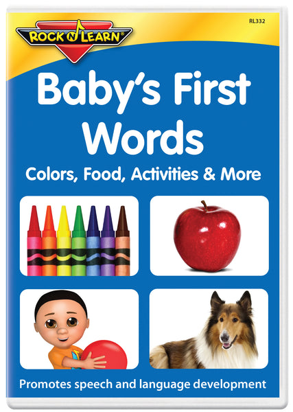 NEW! Baby's First Words - Colors, Food, Activities & More