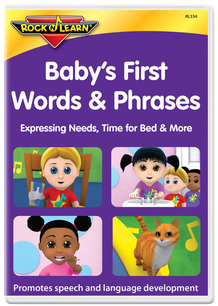 Baby's First Words & Phrases - Expressing Needs