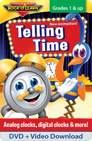 Telling Time DVD & Video Download