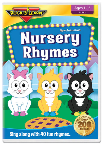 NEW Animation! Nursery Rhymes (DVD)