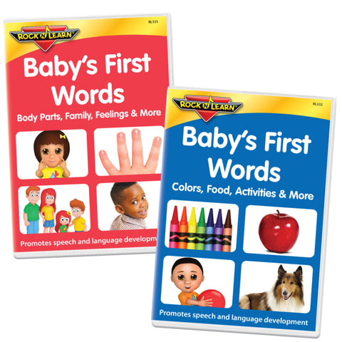 Baby's First Words 2-DVD Set