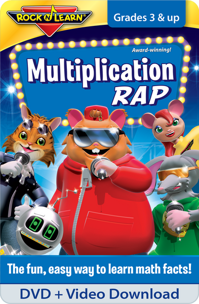 Multiplication Rap DVD & Video Download