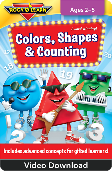 Colors, Shapes & Counting Video Download
