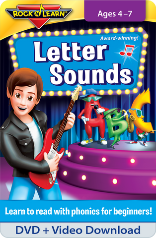 Letter Sounds DVD & Video Download