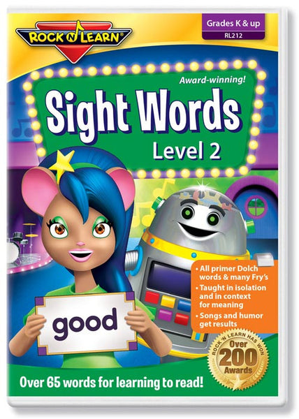 Sight Words Level 2 (DVD)