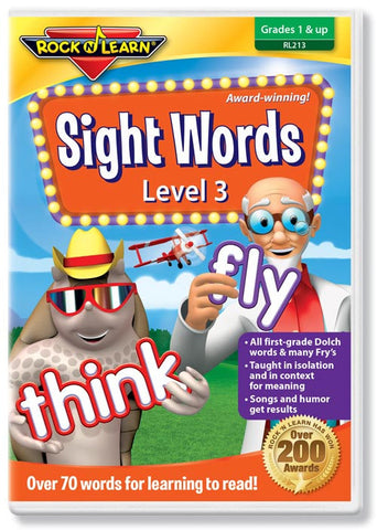 Sight Words Level 3 (DVD)