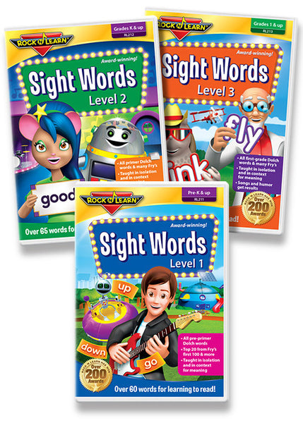Sight Words DVD Collection