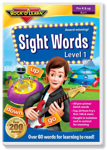 Sight Words Level 1 (DVD)