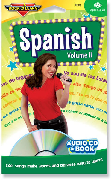 Spanish Volume II (audio & book)