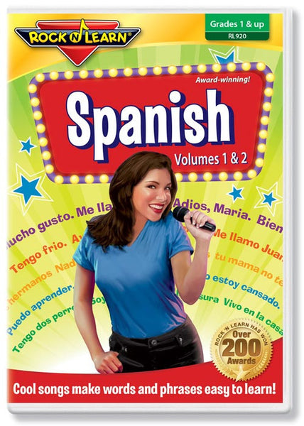 Spanish Volumes 1 & 2  (DVD)