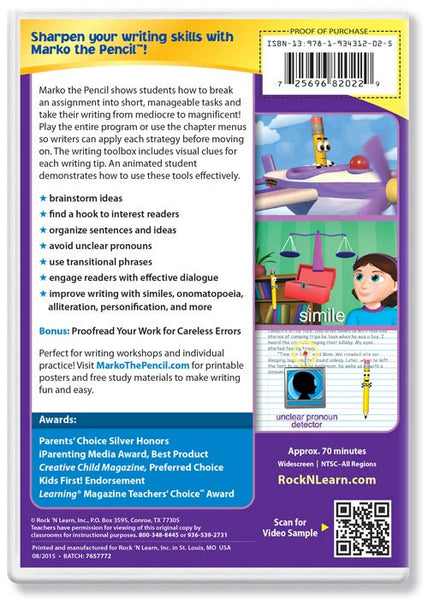 Writing Strategies (DVD)