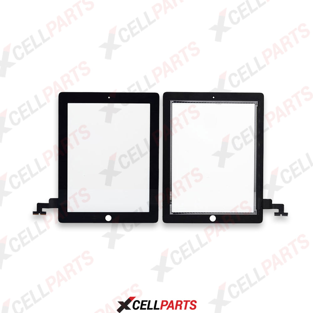 Touch Digitizer For iPad 2 (Black)