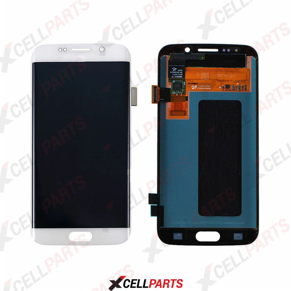 LCD Screen Touch Digitizer With Out Frame For Samsung Galaxy S6 Edge (G925) (White)