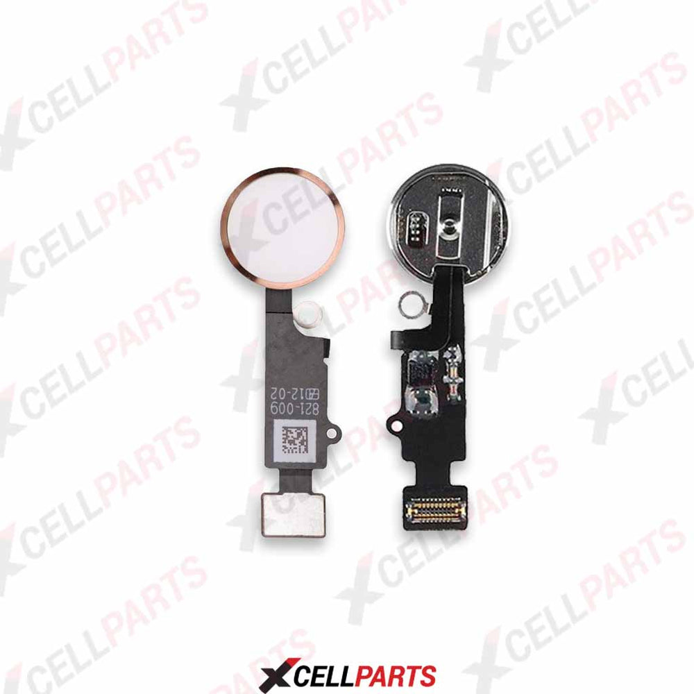 Home Button Flex Cable For Iphone 7 / 7 Plus (For Cosmetic Use Only) (Rose Gold)