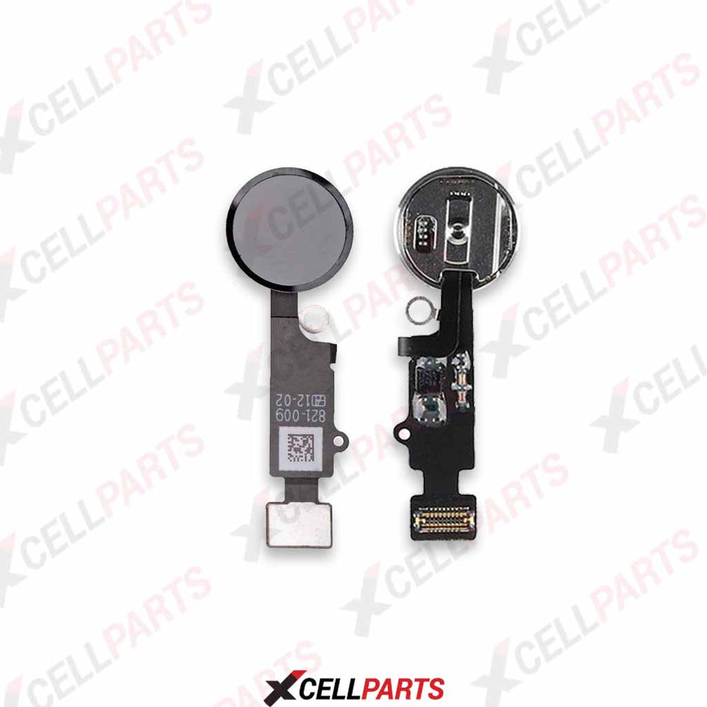 Home Button Flex Cable For Iphone 7 / 7 Plus (For Cosmetic Use Only) (Black)
