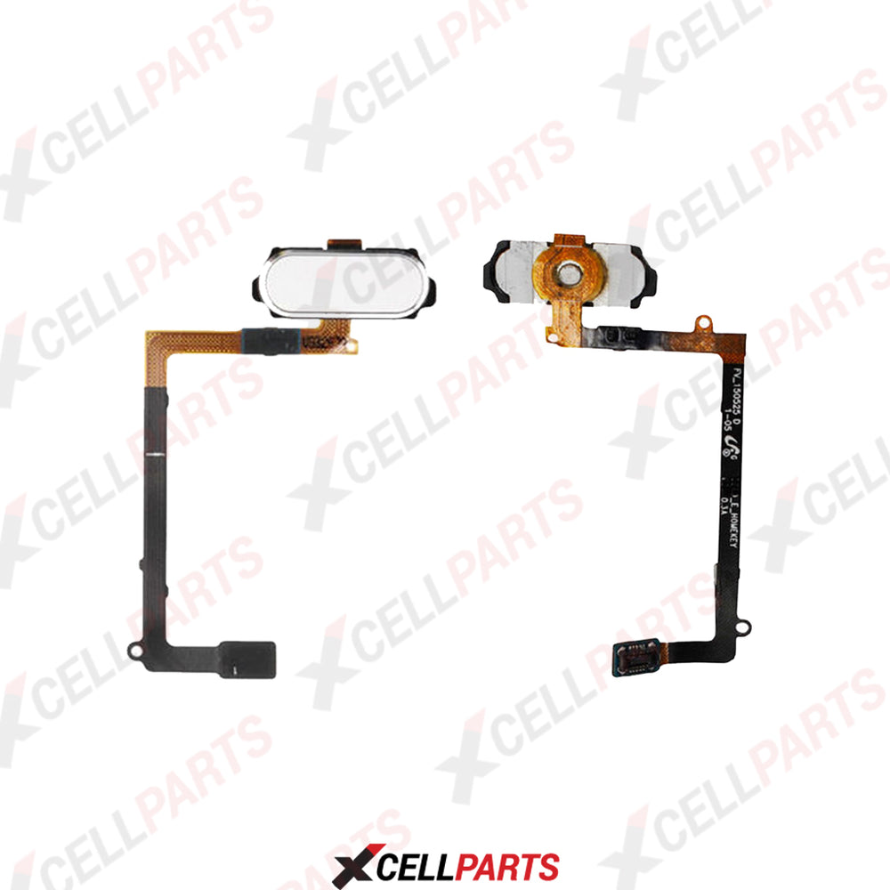 Home Button With Flex Cable for Samsung Galaxy S6 Edge Plus (White Pearl)