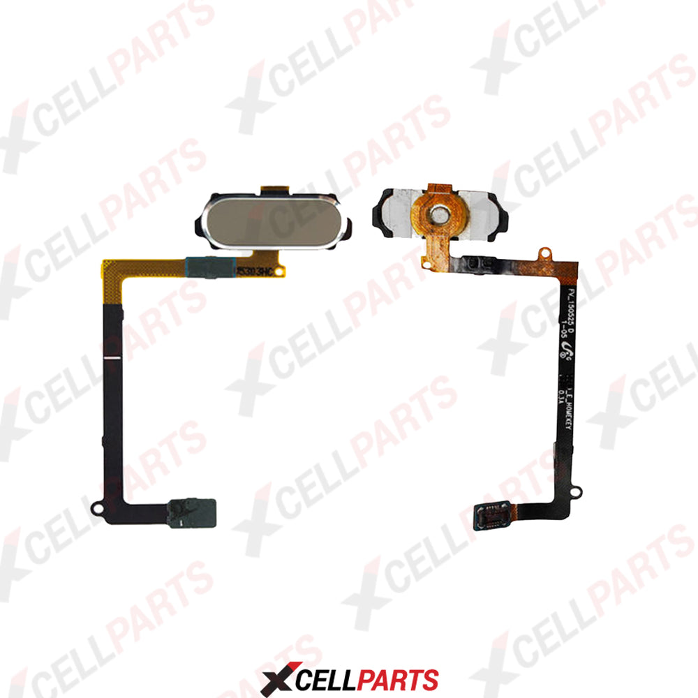 Home Button Flex Cable For Samsung Galaxy S6 Edge Plus (Gold)