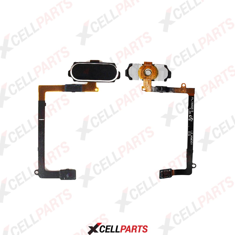 Home Button Flex Cable For Samsung Galaxy S6 Edge (G925) (Black)