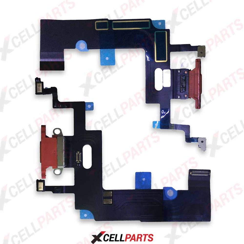Charging Port Flex Cable For iPhone XR (Red)