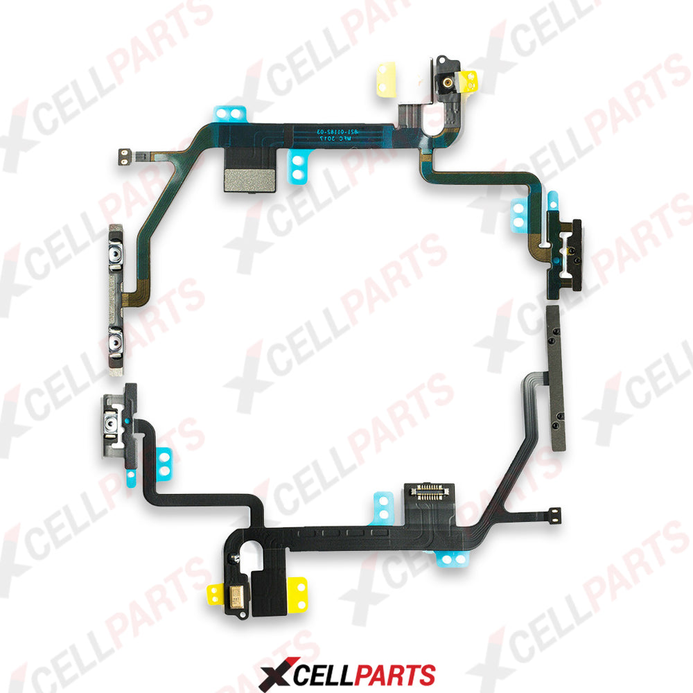 Power And Volume Button Flex Cable For Iphone 8
