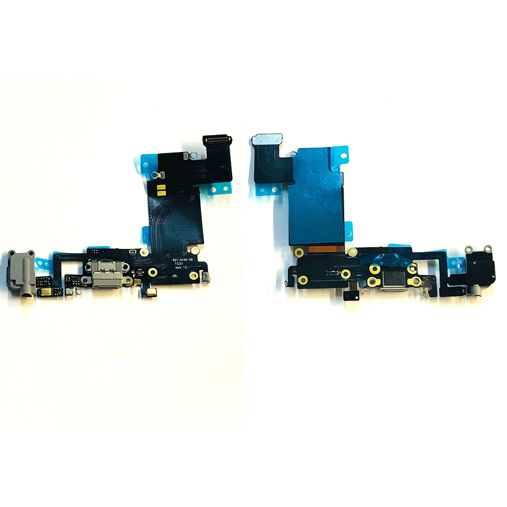 Charging Port Flex Cable For Iphone 6s Plus (Black)