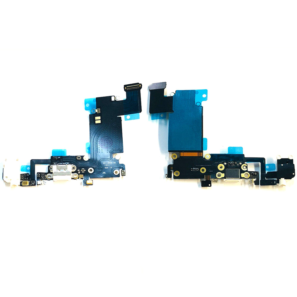 Charging Port Flex Cable For Iphone 6s Plus (White)