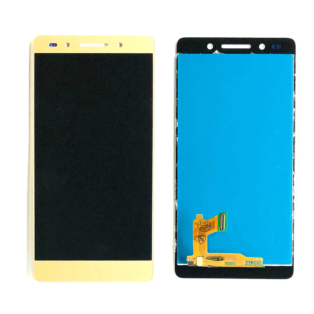 LCD Screen Touch Digitizer With Out Frame For Huawei Honor 7 (Gold)