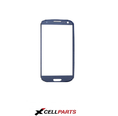 SAMSUNG S2 FRONT GLASS (BLUE)